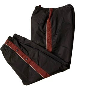 Vintage 90s Nike Light Weight Black Track Pants